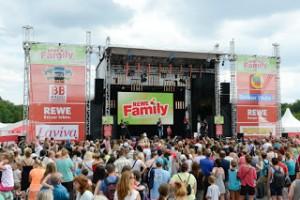 Live, umsonst und draußen: Die REWE Music Stage Offizielles Pressefoto; Quelle: REWE Presse